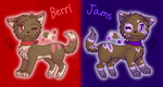 Berri and Jams Reference by GardevoirLoverHope