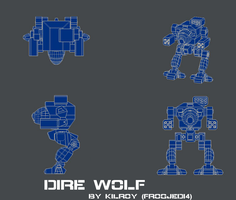Dire Wolf Blueprints by FJ4