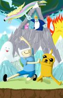 Adventure Time by MattDeMino