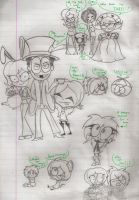 G in Wonderland Doodles by Twisted-G