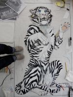 White Tiger: Step 3 by FireKat