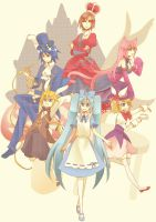Alice in musicland group by animebabe721