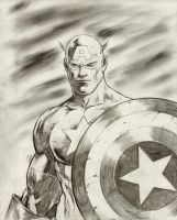 Captain America by FlowComa