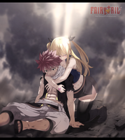 Fairy Tail 507: Natsu and Lucy by TempestDH