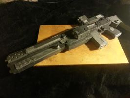 ADNOR military products :HA-561 gauss rifle by adamnorde583