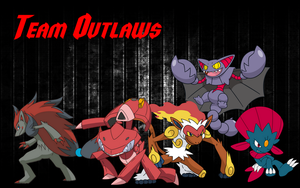 Team Outlaws Background by JessicaBane501