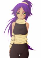 Yoruichi by lmbeer