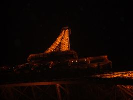 Eiffel Tower - Night by AlexAKADucky