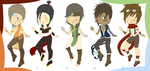 Adoptables: Avatar Set 2 BOYS OPEN by EtherealApricity
