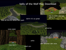 Vally of the Wolf FeralHeart map download by scarlett-jolteon