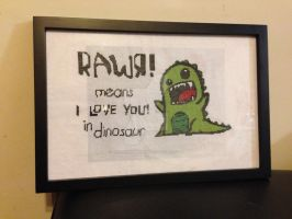 Rawr! Finished by BioVenomImagery