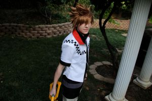 Roxas cosplay by OurLivingLegacy