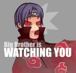 Big Brother Itachi by catzzzrule