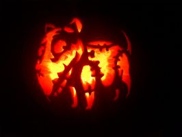 Sparky! Pumpkin Carving :D by gauntgreetings