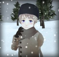 .:I am alone in this cold land:. by Nihoko