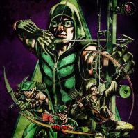 Green Arrow by REDSkill3t