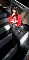 light in the darkness (Rin Tohsaka) by SkittlesnCookie