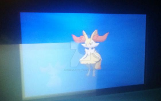 Fennekin evolved!! :D by Silver-Glaceon