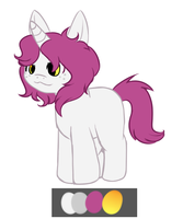 My little pony ::Point adoptable:: by Hatchetfishies