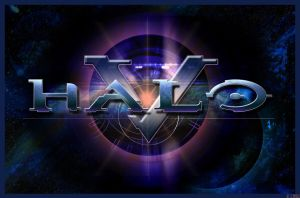 Halo V Logo by AzureParagon