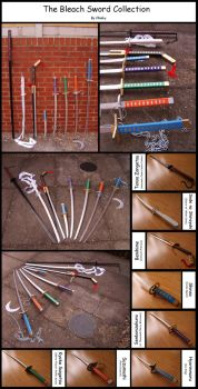 The Bleach Sword Collection by chioky