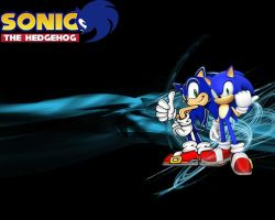 Sonic wallpaper by thedominator277