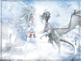 The Ice Warrior by Vickyfab
