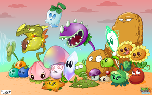 Plants Vs Zombies 2 by elad3elad