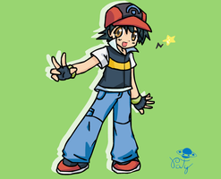 Ash Ketchum by Patychan