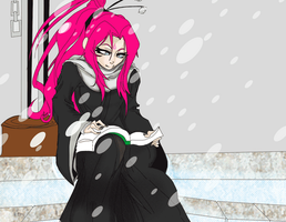Secret Santa: Chitsuki Snow Day by UltimateSketchQueen