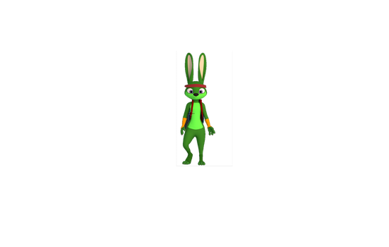 Jazz Jackrabbit 3D model by Gamerz31w
