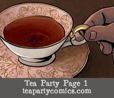 Tea Party: An American Story, Page 1 by Theamat
