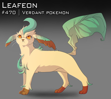 :Day 19: Leafeon by AkaPanuka