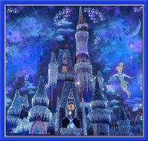 Cyrstal Blue Winter Wonderland by WDWParksGal