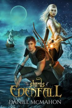 The Shards of Edenfall: Book Cover by FrostAlexis