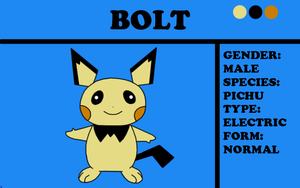 Bolt the Pichu by TheChiefofTime