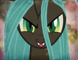 Old Picture Queen Chrysalis by Pumpkinburst