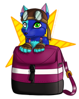 :C: Skeeter Chibi by Astronblackmoon