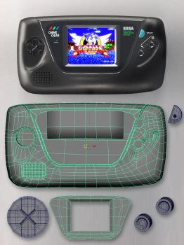 GameGear SpeedModelling by PositiveDope