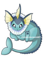 Vaporeon by iceicet