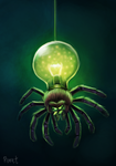 DAY 53. Arachniborg (35 Minutes) by Cryptid-Creations