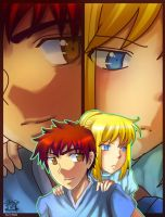 Fate Stay Night: Tiny Momment by rairy