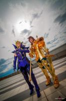 Aries No Shion - Libra No Dohko by Ivycosplay
