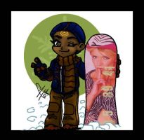 Teal'c Winter by roryalice
