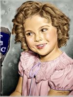 Shirley Temple - Colored by Livadialilacs