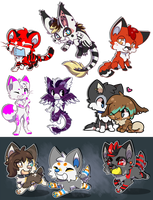 Chibi batch 3 by Leeomon