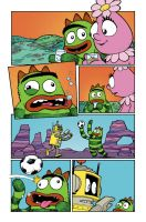 Yo Gabba Gabba Comic Book Time by whoisrico