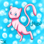 Mew by DarkChocaholic
