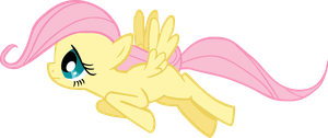 Filly Fluttershy by CrusierPL