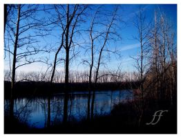 blue reflection by pfritzo